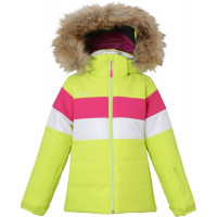 Phenix Marguerite Kids Jacket - yellow green