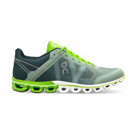 ON Cloudflow moss/lime