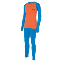 Viking Arata Kids underwear (SET) oranžová/modrá