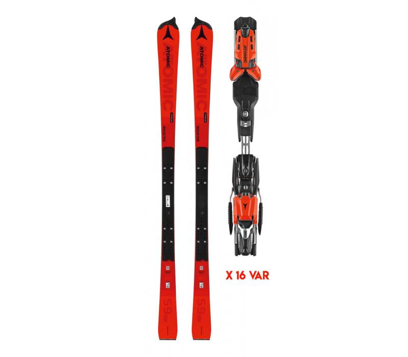 Atomic Redster S9 FIS M + X 16 VAR Black/Red
